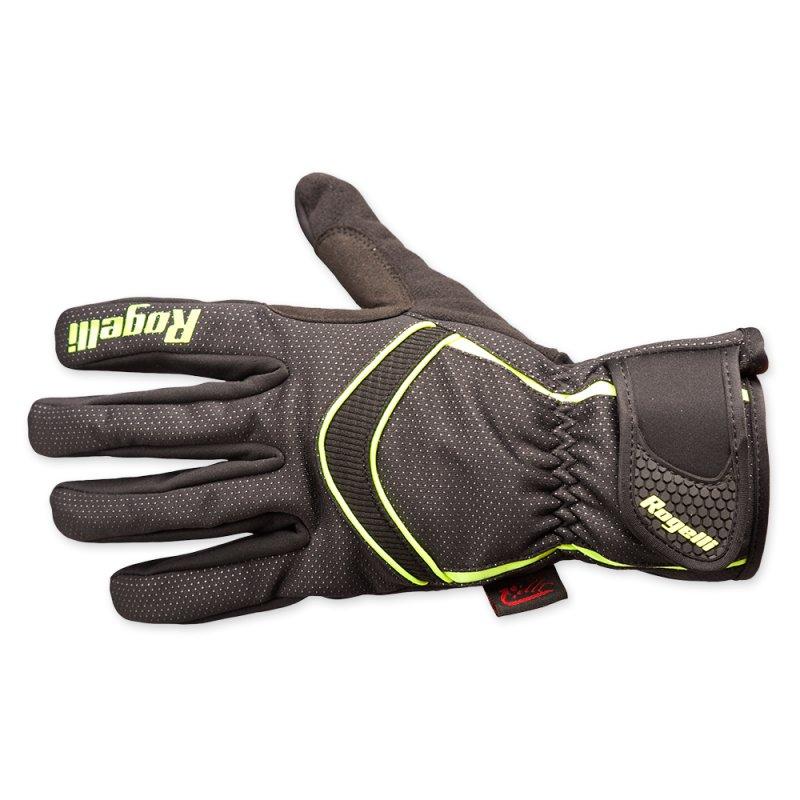 Rogelli Winter gloves Whitby black yellow handschoen