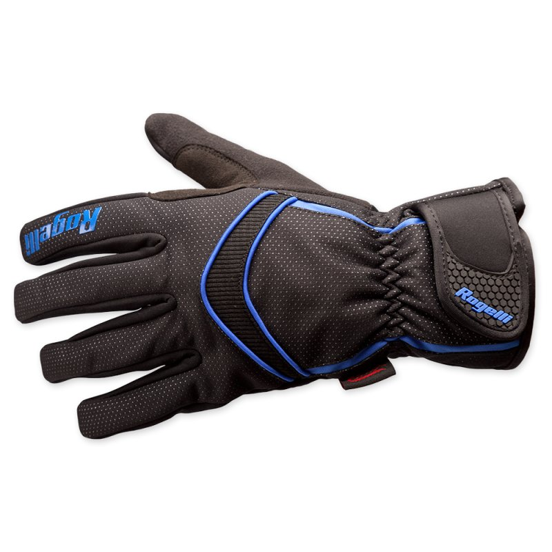 Rogelli Winter gloves Whitby black blue handschoen