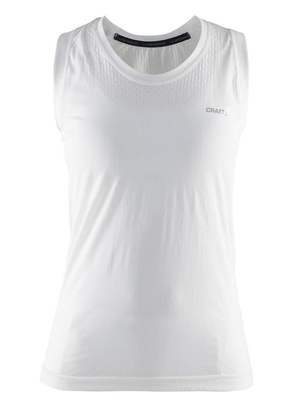 Craft Cool Seamless Singlet Women White