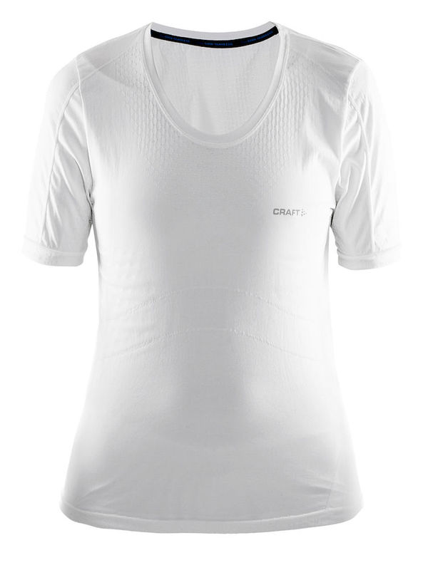 Craft Cool Seamless Short Sleeve Tee Women White
