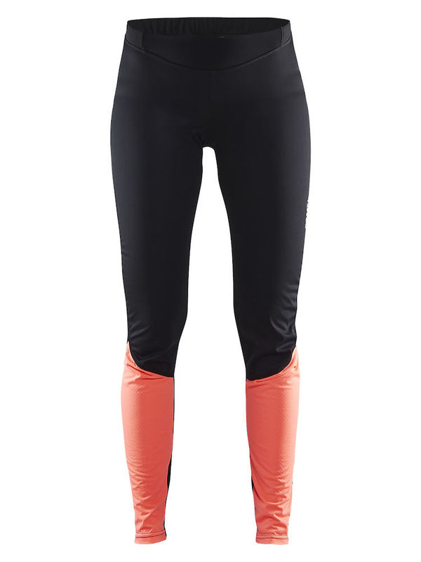 Craft Velo Thermal Wind Tights Women Black/Panic