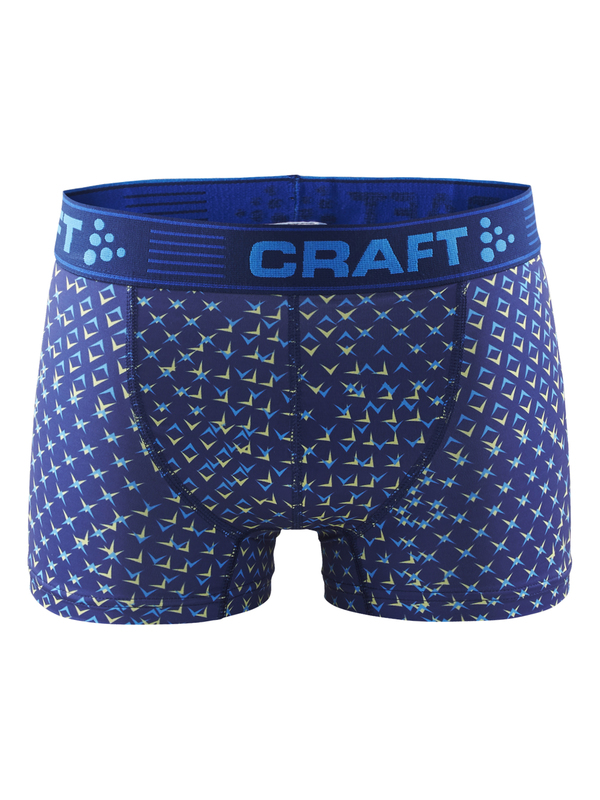 Craft Greatness Boxer 3-Inch blue pattern