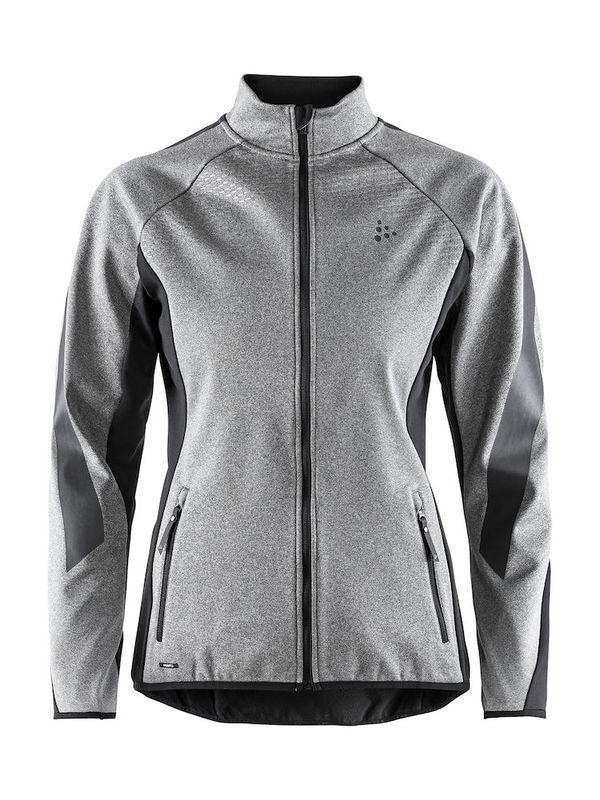 Craft Sharp Softshell Jacket Women Melange/Black