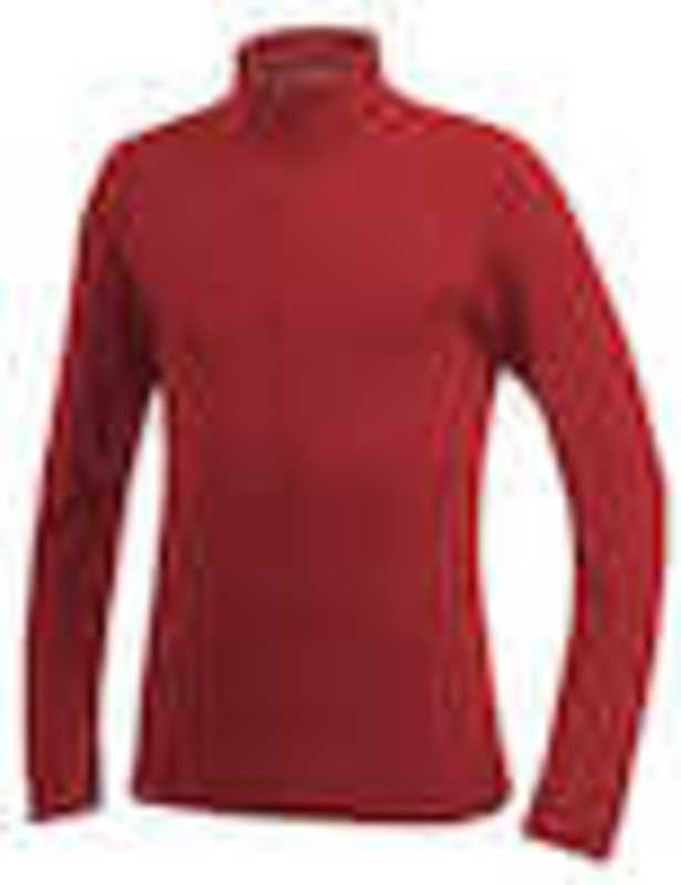 Craft Zip Pullover Bodymapping rood