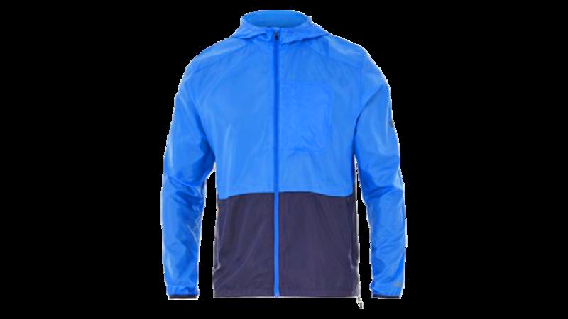 Asics Men's packable jacket [race blue/peacoat]