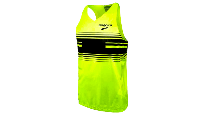 Brooks Men's Elite singlet [nightlife/black)