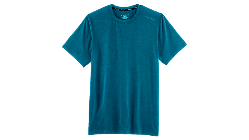 Brooks Men's Distance short sleeve [heather river]