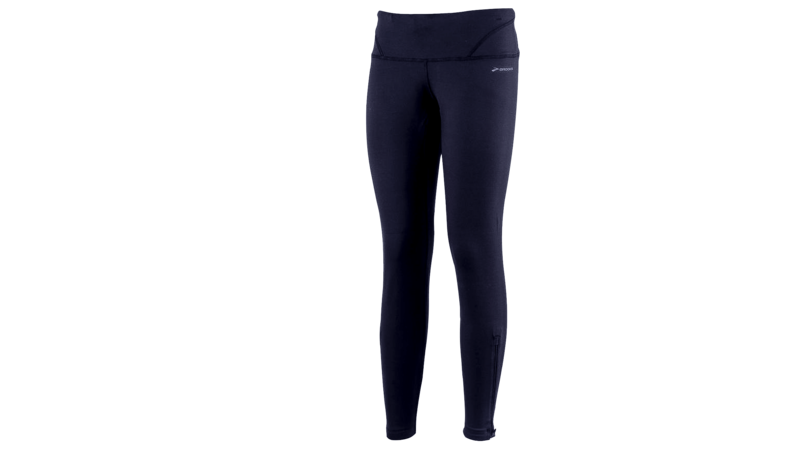 Brooks Women's Infinity tight III leg zip [midnight]