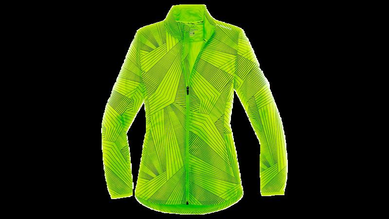Brooks Women's LSD jacket [nightlife/big sunshine]