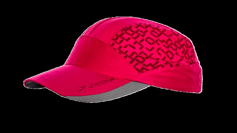 Brooks Women's Mesh run hat [fuchsia/digiprint]