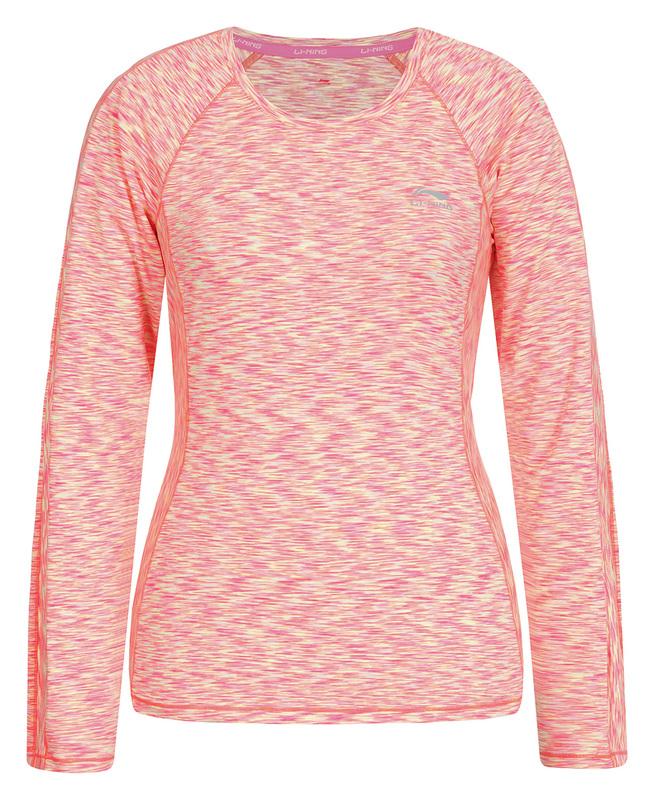 Li-Ning Running top Sophie - roze/geel/oranje