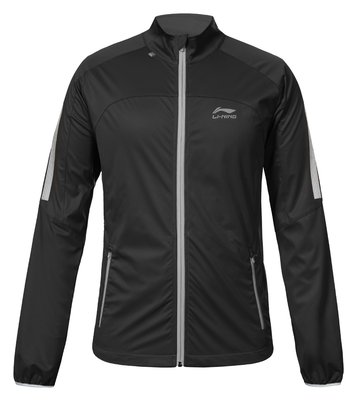 Li-Ning Men's running jacket - STAN [black]