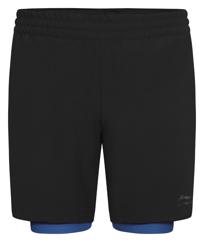 Li-NingSpencer 2in1 Short men color 990