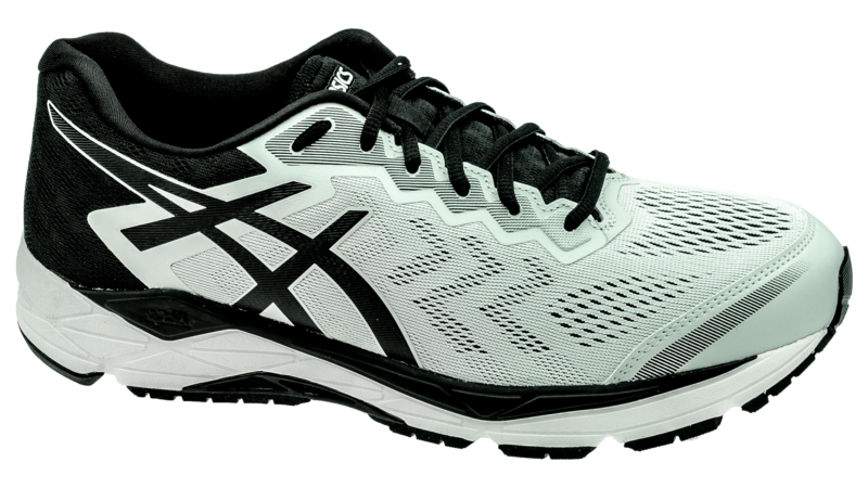 Asics Fortitude 8 glacier grey/black [2E-WIDE]