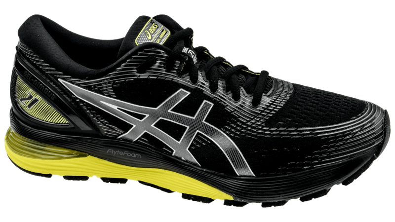 Asics Nimbus 21 black/lemon spark