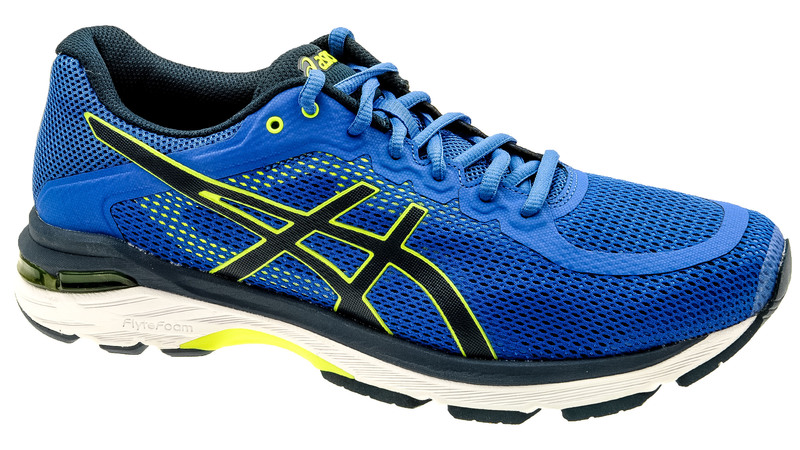Asics Pursue 4 Victoria blue/dark blue/safety yellow