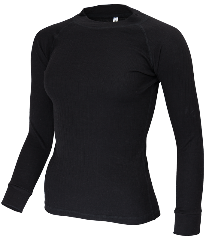 Avento Thermoshirt  Dames Zwart of  Marine(lange mouw) 721
