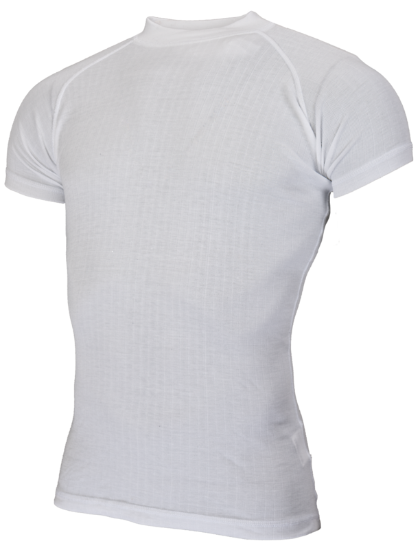 Avento  Thermoshirt Heren Wit (korte mouw) 722