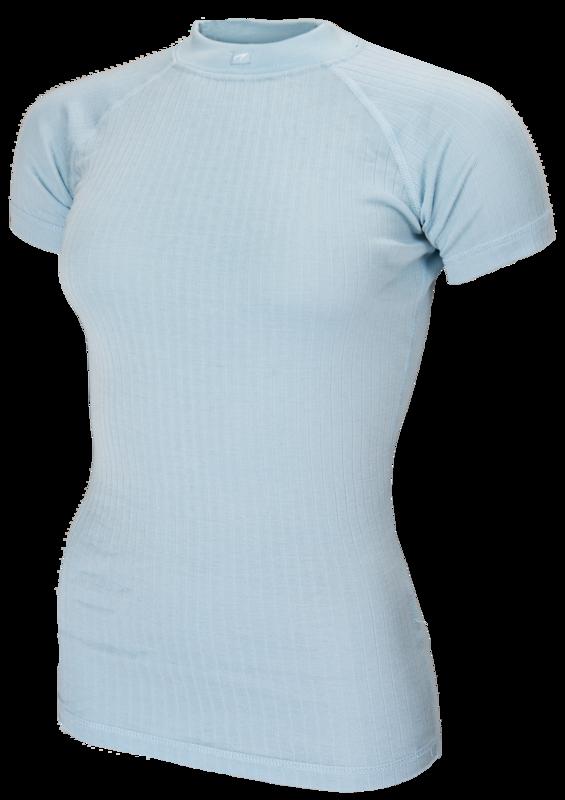 Avento  Thermoshirt  Dames Blauw (korte mouw) 720