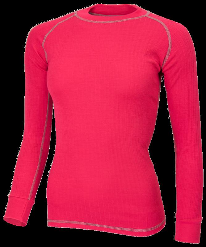 Avento Thermoshirt  Dames Roze (lange mouw) 721