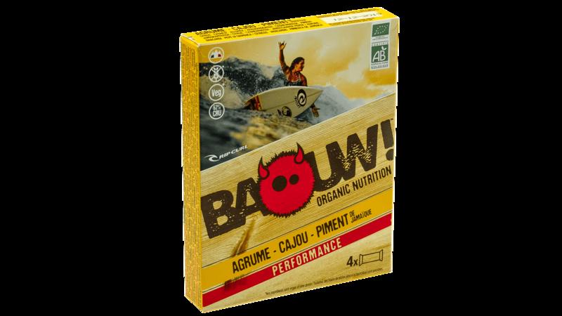 Baouw!4-pack reep 30g [citrus-cashew-piment]