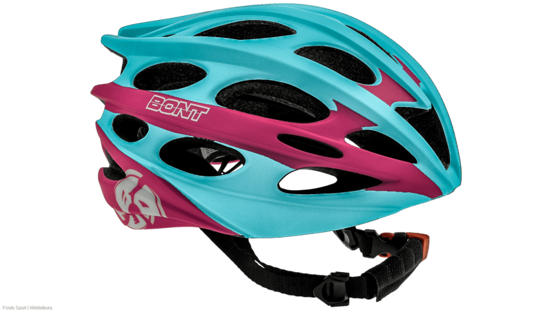 Bont Inline skate helmet matt lightblue/pink