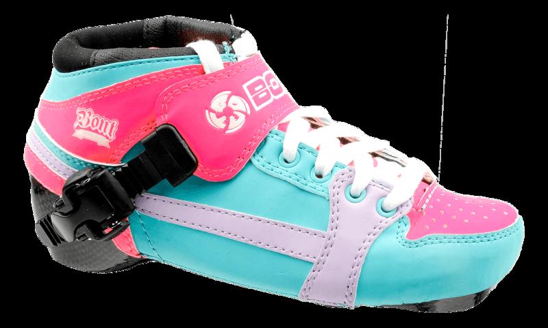 BontPursuit Boot Aqua/Pink