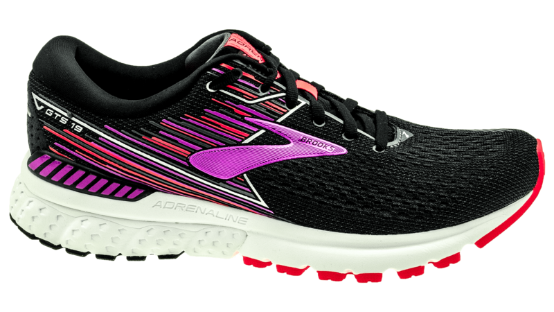 Brooks Adrenaline GTS 19 black/purple/coral [2A-NARROW]