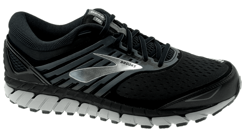 Brooks Beast 18 black/grey/silver