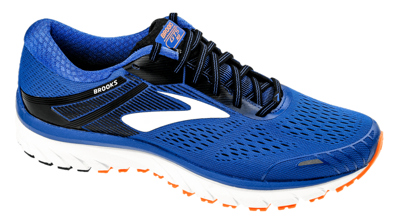 Brooks Adrenaline GTS 18 blue/black/orange [4E-EXTRA WIDE]