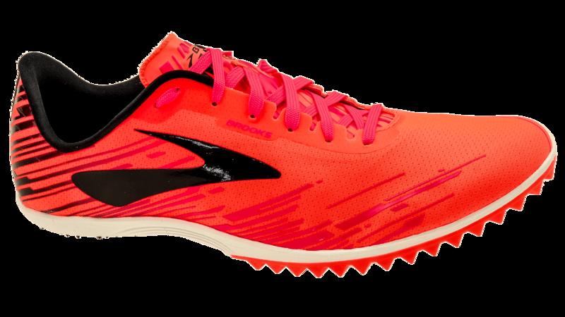 Brooks Men's Mach 18 orange/pink/black