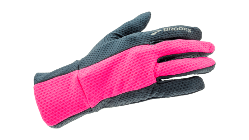 Brooks Unisex Pulse Lite gloves [midnight/brite pink]