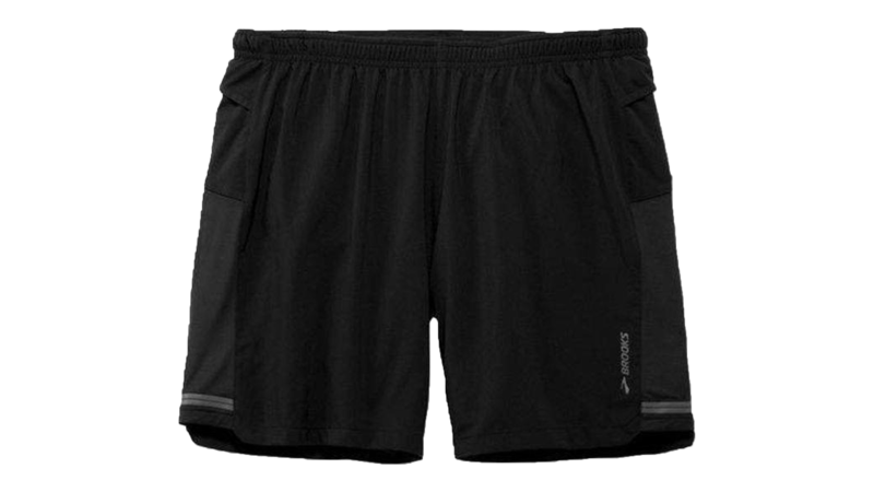 "Brooks Men's Sherpa 2-in-1 7"" short [black]"