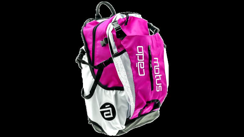 Airflow gear skate skeeler bag - pink/white