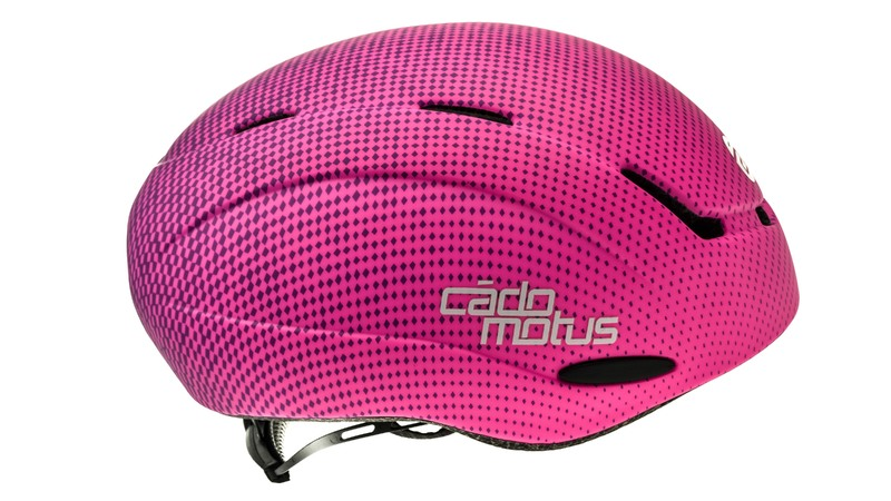 CadoMotus Alpha-Youth Aerospeed kinder schaatshelm - roze