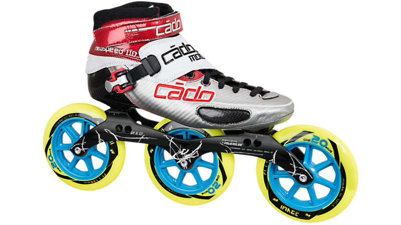 New Speed 110 met Powerslide Vi 125mm
