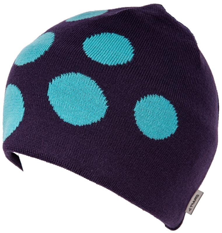 Craft Big Logo muts (paars met bollen)