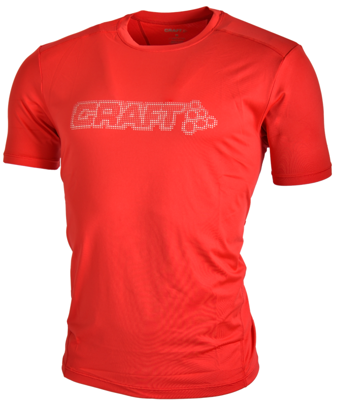Craft Pro Cool Logo T-Shirt Rood
