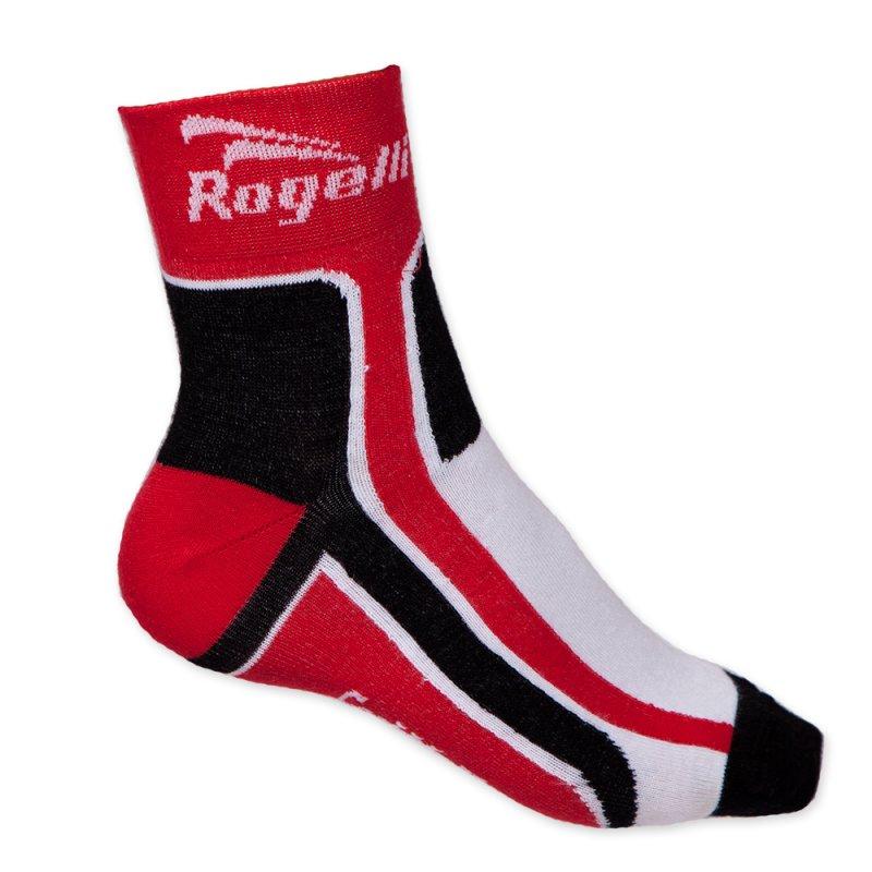 Rogelli Kinder sportsok RCS-03 wit/rood