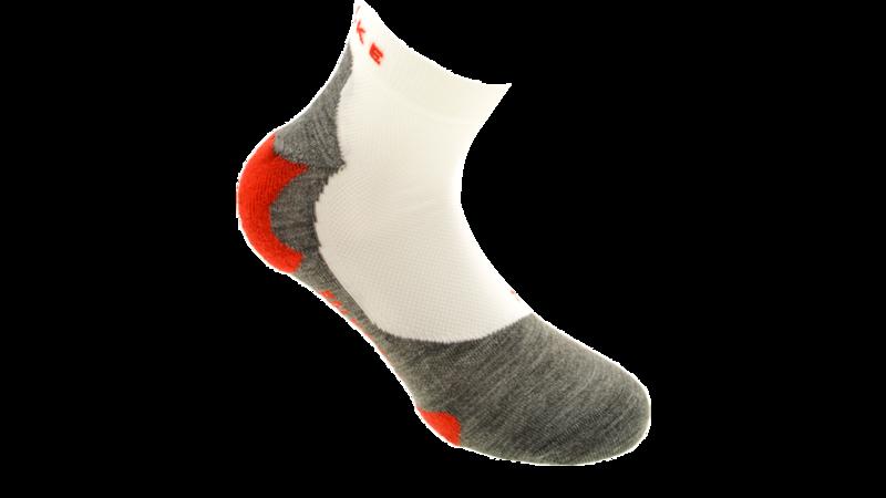 Falke RU5 SHORT - RUN white/grey [men 16729-2020]