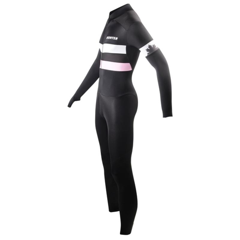 Hunter Skatesuit Marathon RTR Speed Black Pink 25403