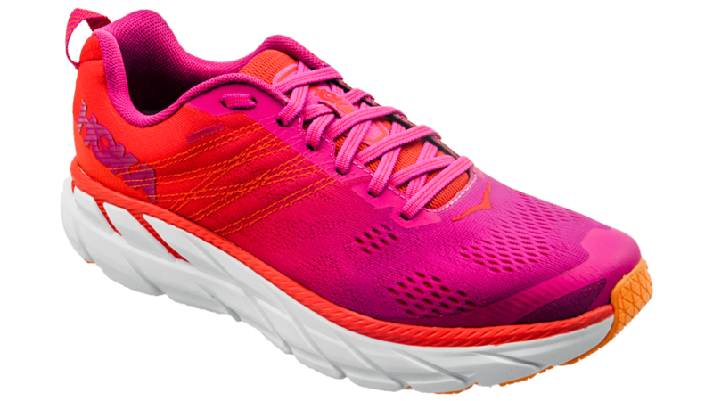 Hoka One One Clifton 6 poppy red/cactus flower