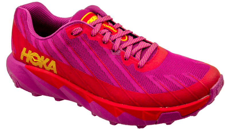 Hoka One One Torrent cactus flower/poppy red