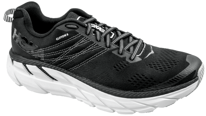 Hoka One OneClifton 6 black/white [women]