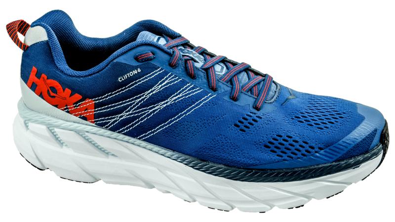 Hoka One OneClifton 6 engine blue/plain air