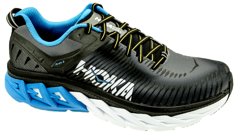 Hoka One One Arahi 2 black/charcoal gray [WIDE]