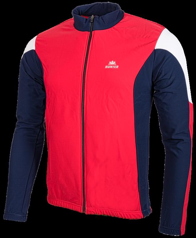 Hunter Endurance Thermo Jack (marine/rood/wit))