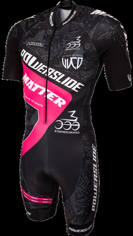 Powerslide Skeelerpak World Black/Pink 2017