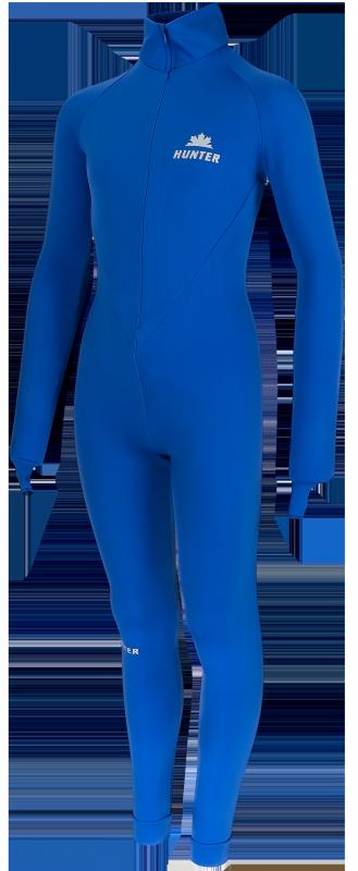 Hunter Thermo Schaatspak zonder cap (kobalt)