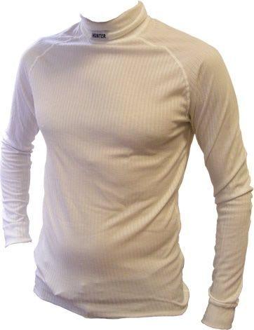 Hunter Shirt lange mouw col wit